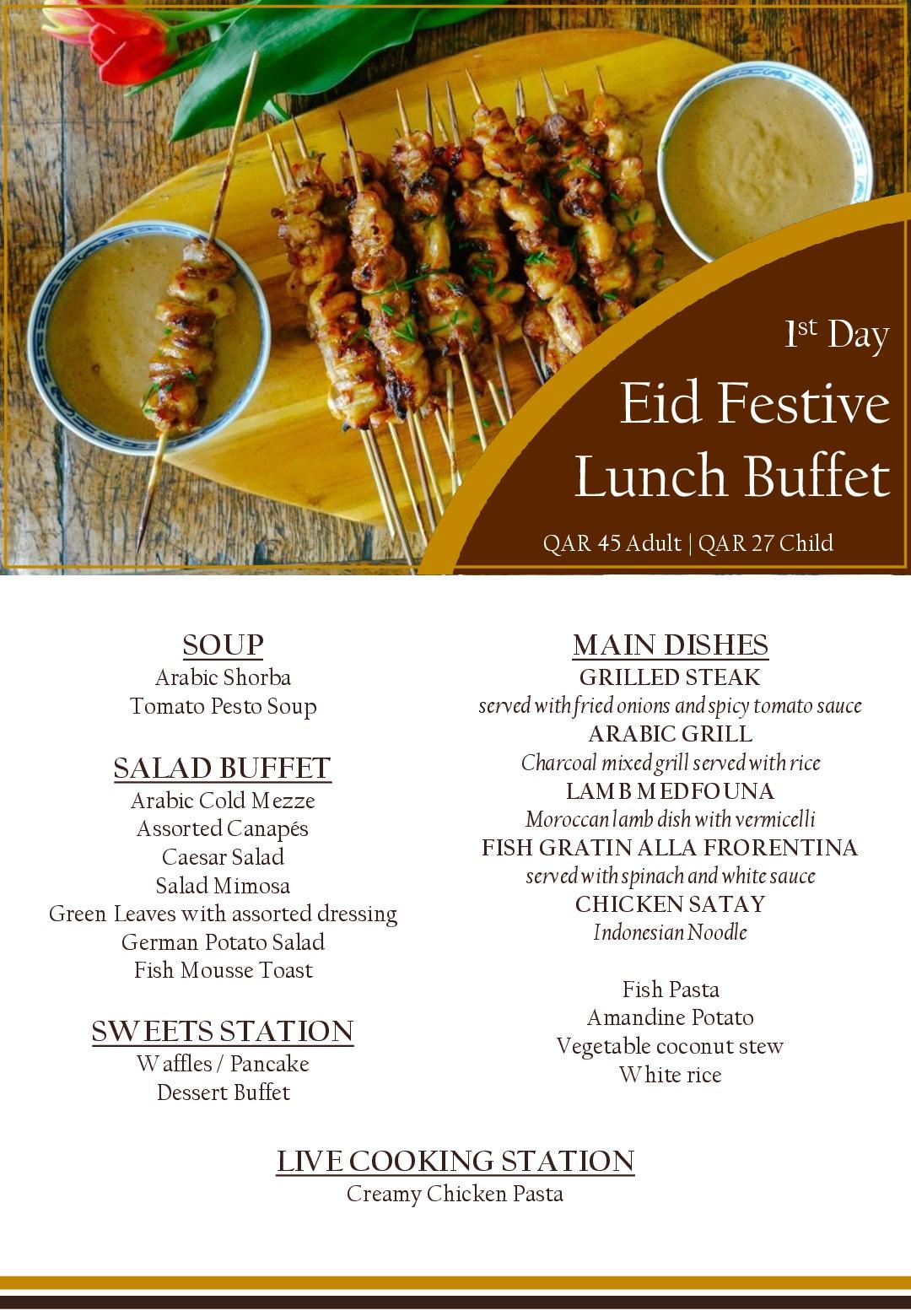 Eid Al Fitr 2017 Eid Menus