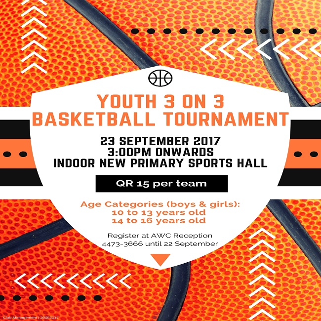 Astro Turf Garden >> Youth 3 on 3 Basketball Tournament